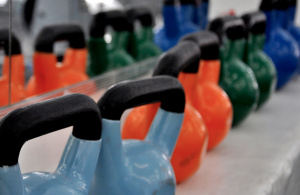 Quick Barbell-Kettlebell-Burpee Workout