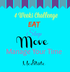 One Step At a Time and a 4 Weeks Challenge