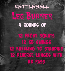 Uneven Loading And a Leg Burner Kettlebell Workout