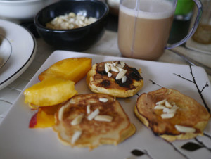 Sprint Workout and Fluffy Coconut Flour Pancakes