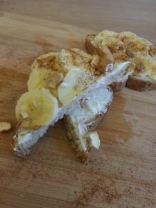 Banana Cashew Honey Snack