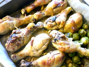 Lemon-Ginger Marinated Chicken Drumsticks