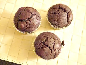 Beet Chocolate Muffins