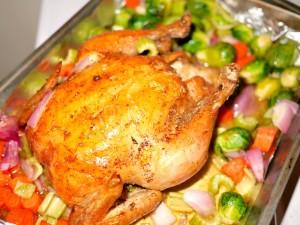 Simplest Roast Chicken Recipe