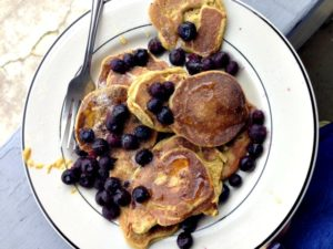 Flaxseed Pancakes (gluten-free, dairy-free)