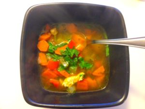 Light Turkey or Chicken Soup and Go Grab My eBook!