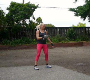 Kettlebell & Bodyweight Ladder Workout