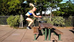 How to Overcome the Fear of Box Jumps and Equipment-Free Park Bench Workout