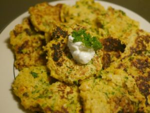 Saturday Bootcamp Workout II and Simple Chickpea Patties
