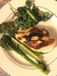 Goat Cheese and Prunes Stuffed Chicken Breasts