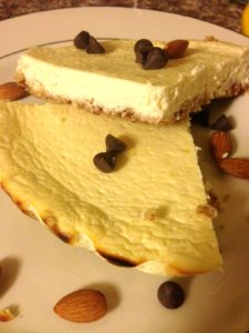 Yummy Lemon Protein Cheesecake