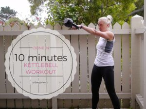 10 Minute Kettlebell Workout to Kick Off Friday