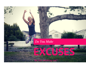 Do You Make Excuses for Not Working Out?