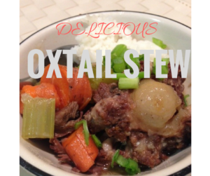 Delicious Oxtail Stew (in Instant Pot or a regular pot)