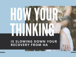 How Your Thinking Is Slowing Down Your Recovery From Hypothalamic Amenorrhea