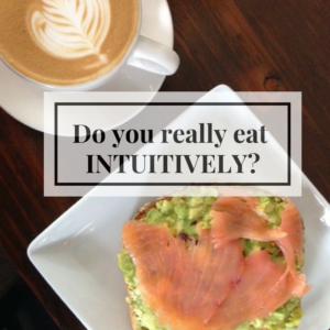 Do You Really Eat Intuitively?