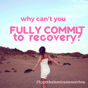 Why Can't You Fully Commit to Recovery?