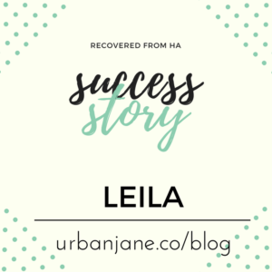 "Leila's Hypothalamic Amenorrhea Recovery Story: ""Journaling helped me to keep going!"""
