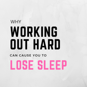 Did You Lose Your Sleep While Training Hard? Your Cortisol Might Be Through the Roof